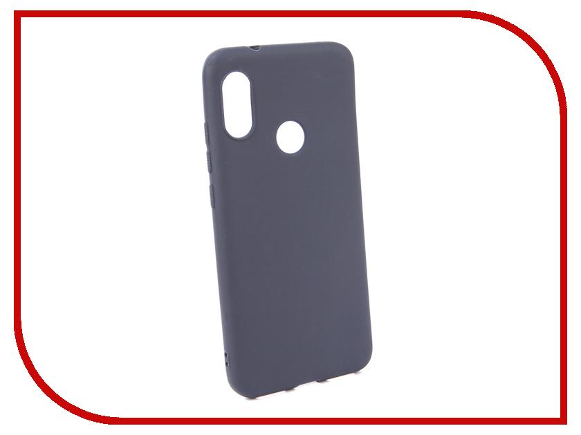 Аксессуар Чехол для Xiaomi Redmi 6 Pro Neypo Soft Matte Silicone Dark-Blue NST5468 protective matte silicone case for iphone 5 5s dark blue white