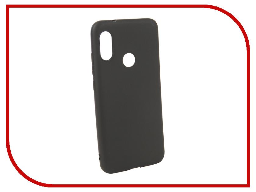 Аксессуар Чехол для Xiaomi Redmi 6 Pro Neypo Soft Matte Silicone Black NST4849 аксессуар чехол для xiaomi redmi 5a neypo soft touch black st3497