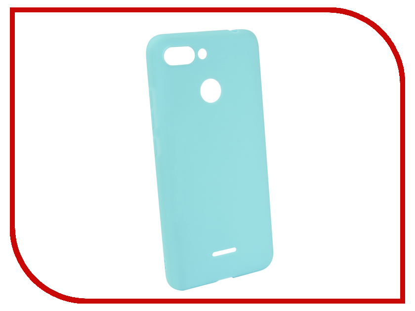 Аксессуар Чехол для Xiaomi Redmi 6 Neypo Soft Matte Silicone Turquoise NST4902 аксессуар чехол для xiaomi redmi 5a neypo soft touch gold st3778