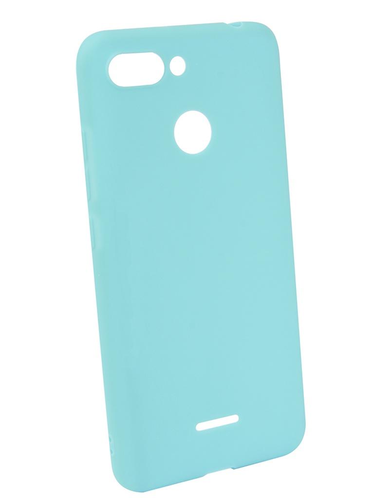 Чехол Neypo для Xiaomi Redmi 6 Soft Matte Silicone Turquoise NST4902