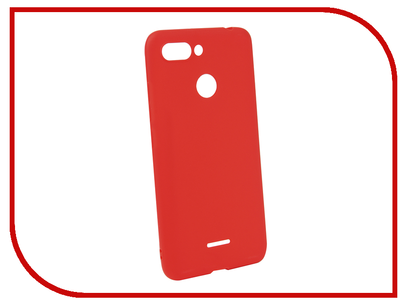 Аксессуар Чехол для Xiaomi Redmi 6 Neypo Soft Matte Silicone Red NST4972 аксессуар чехол для xiaomi redmi 5a neypo soft touch gold st3778