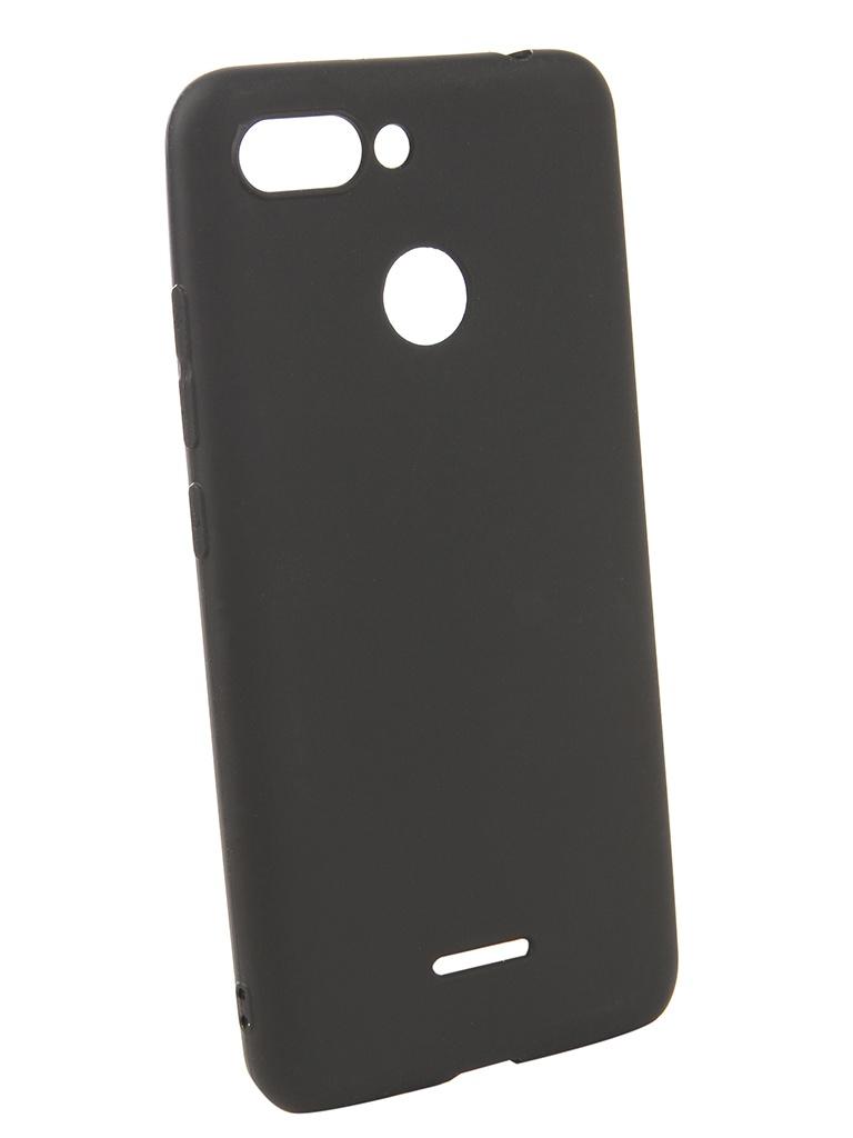 Чехол Neypo для Xiaomi Redmi 6 Soft Matte Silicone Black NST4809