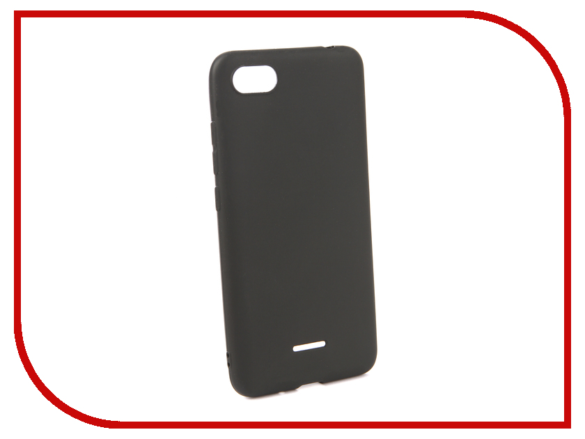 Аксессуар Чехол для Xiaomi Redmi 6A Neypo Soft Matte Silicone Black NST4812 аксессуар чехол для xiaomi redmi 5a neypo soft touch black st3497