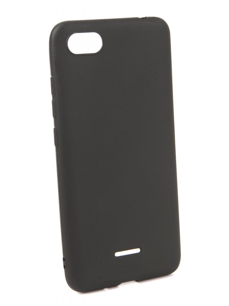 Чехол Neypo для Xiaomi Redmi 6A Soft Matte Silicone Black NST4812