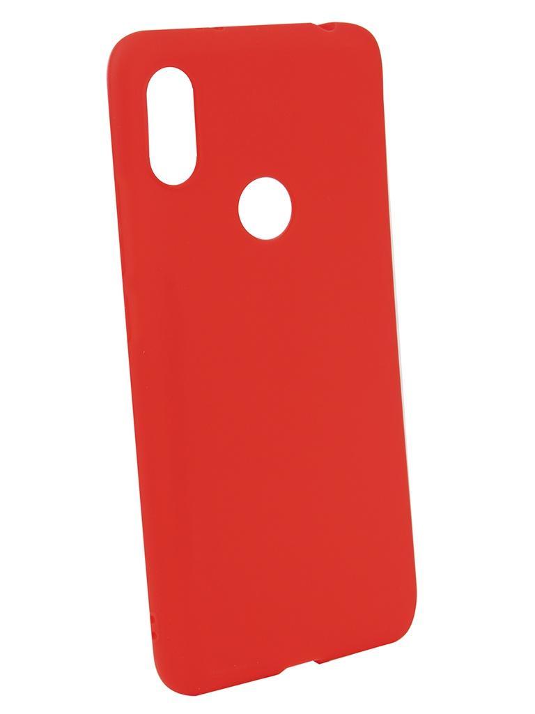 Аксессуар Чехол Neypo для Xiaomi Redmi S2 Soft Matte Silicone Red NST4798