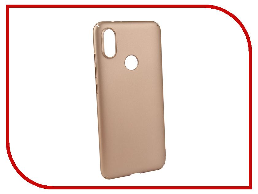 Аксессуар Чехол для Xiaomi MI A2 Neypo Soft Touch Gold ST5442 аксессуар чехол для xiaomi mi a1 neypo soft touch black st3324