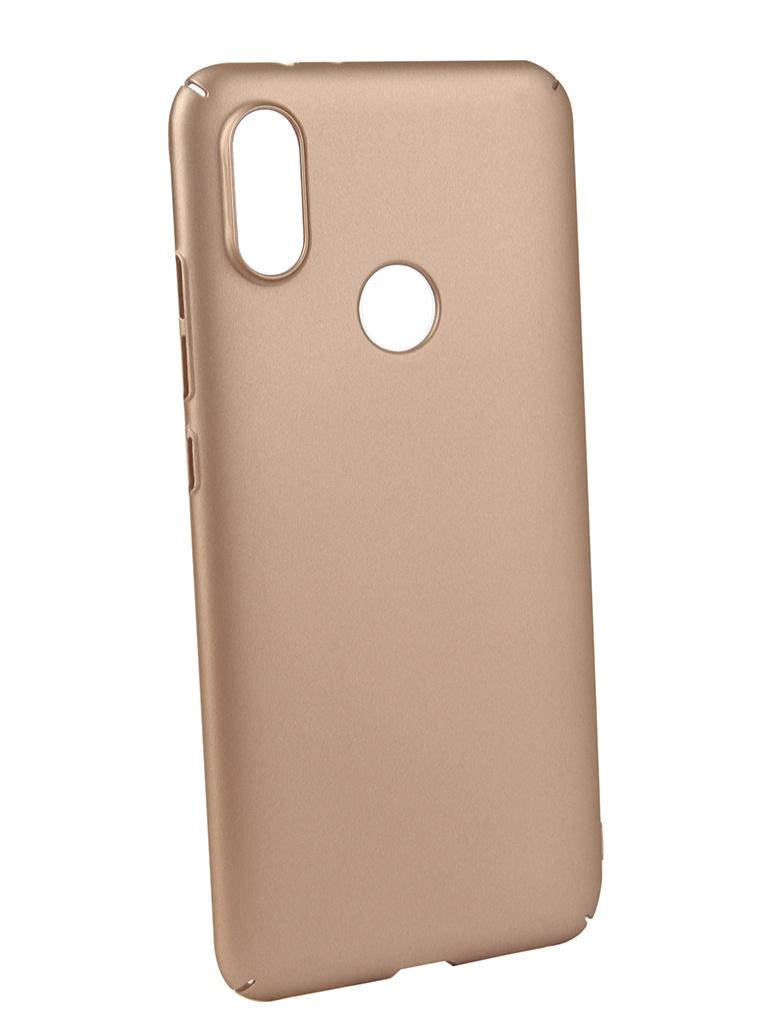 Аксессуар Чехол Neypo для Xiaomi MI A2 Soft Touch Gold ST5442 аксессуар чехол для xiaomi redmi 6x mi a2 gurdini soft touch silicone blue 906609