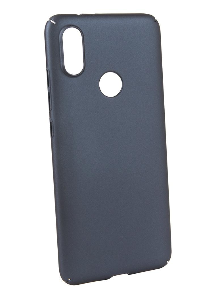 Аксессуар Чехол Neypo для Xiaomi MI A2 Soft Touch Dark Blue ST5441 аксессуар чехол для samsung j4 plus 2018 neypo soft matte dark blue nst5983