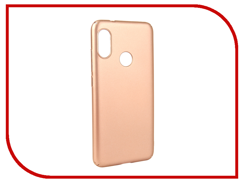 Аксессуар Чехол для Xiaomi MI A2 Lite Neypo Soft Touch Gold ST5443 аксессуар чехол для xiaomi redmi 5a neypo soft touch gold st3778