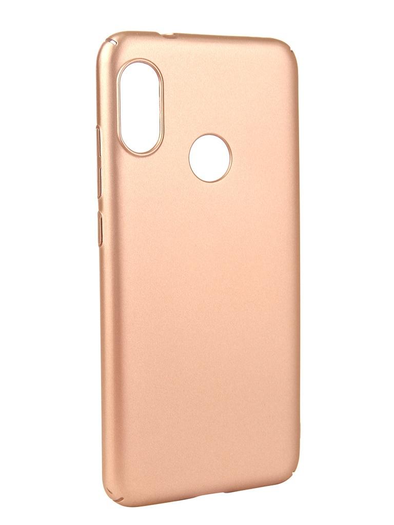 Аксессуар Чехол Neypo для Xiaomi MI A2 Lite Soft Touch Gold ST5443 аксессуар чехол для xiaomi redmi 6x mi a2 gurdini soft touch silicone blue 906609