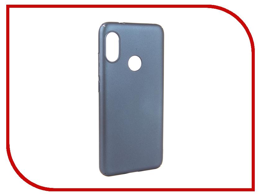 Аксессуар Чехол для Xiaomi MI A2 Lite Neypo Soft Touch Dark Blue ST5445 аксессуар чехол для xiaomi mi a1 neypo soft touch black st3324