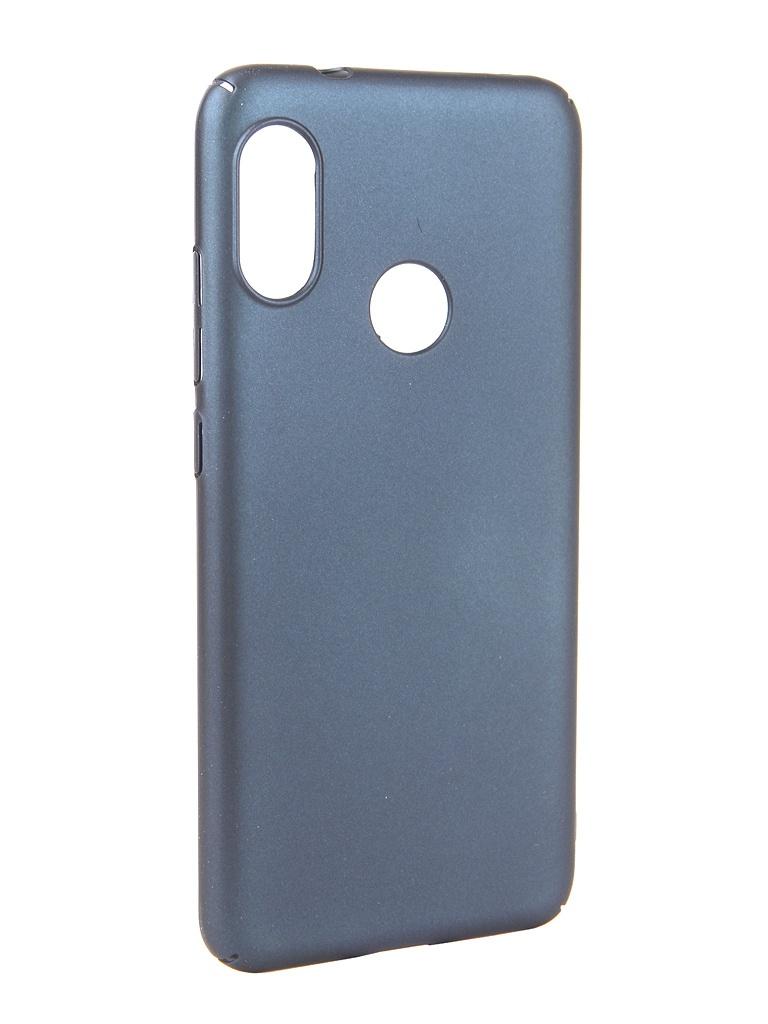 Аксессуар Чехол Neypo для Xiaomi MI A2 Lite Soft Touch Dark Blue ST5445 аксессуар чехол для xiaomi redmi 6x mi a2 gurdini soft touch silicone blue 906609