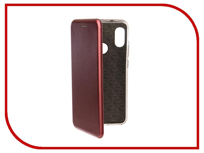 Аксессуар Чехол для Xiaomi Mi A2 Lite Neypo Premium Burgundy NSB5794 чехол для honor 9 lite neypo premium burgundy nsb5757