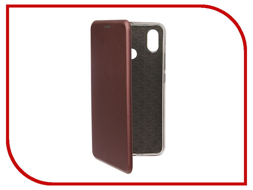 Аксессуар Чехол для Xiaomi Mi Max 3 Neypo Premium Burgundy NSB5752 чехол для honor 9 lite neypo premium burgundy nsb5757