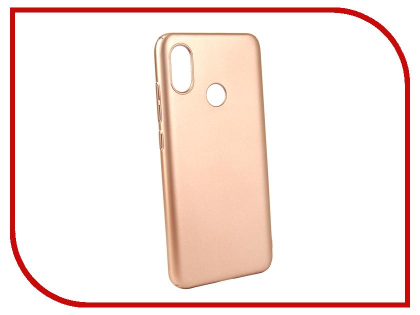 Аксессуар Чехол для Xiaomi Mi8 Neypo Soft Touch Gold ST4779 аксессуар чехол для xiaomi redmi note 5a 32gb neypo soft touch gold st3782
