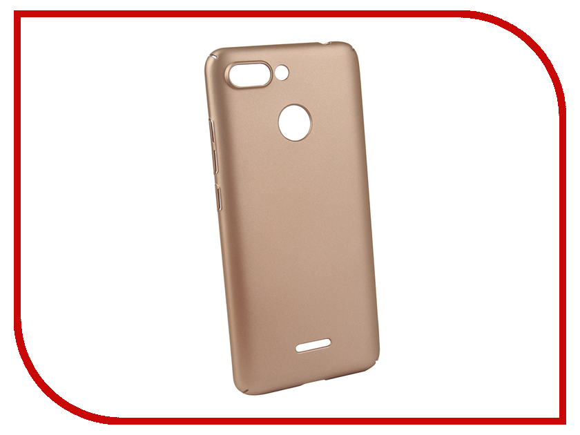 Аксессуар Чехол для Xiaomi Redmi 6 Neypo Soft Touch Gold ST5324 аксессуар чехол для xiaomi redmi 5 plus neypo soft touch с перфорацией red st4571