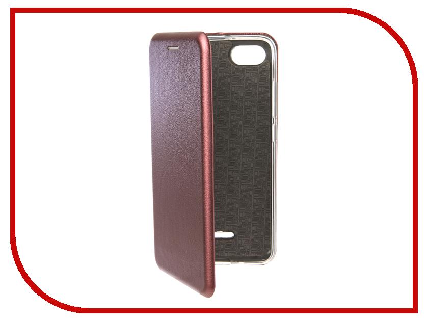 Аксессуар Чехол для Xiaomi Redmi 6A Neypo Premium Burgundy NSB4912 чехол для honor 9 lite neypo premium burgundy nsb5757