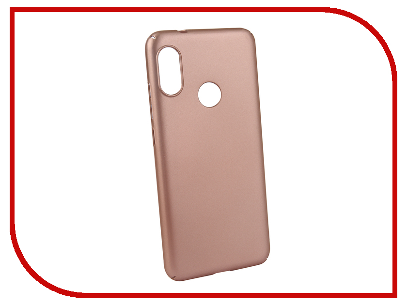 Аксессуар Чехол для Xiaomi Redmi 6 PRO Neypo Soft Touch Rose Gold ST5301 аксессуар чехол для xiaomi redmi 5 plus neypo soft touch с перфорацией red st4571