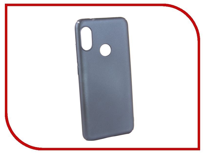 Аксессуар Чехол для Xiaomi Redmi 6 PRO Neypo Soft Touch Dark Blue ST5446 аксессуар чехол для xiaomi redmi 5 plus neypo soft touch с перфорацией red st4571