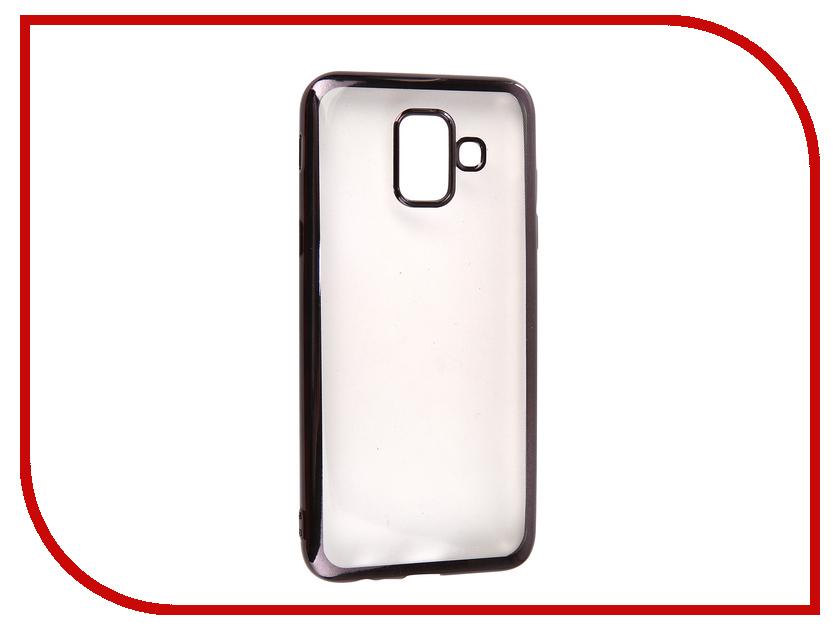 Купить Аксессуар Чехол для Samsung Galaxy A6 2018 Neypo Aura Gray Metallic NSTA5210