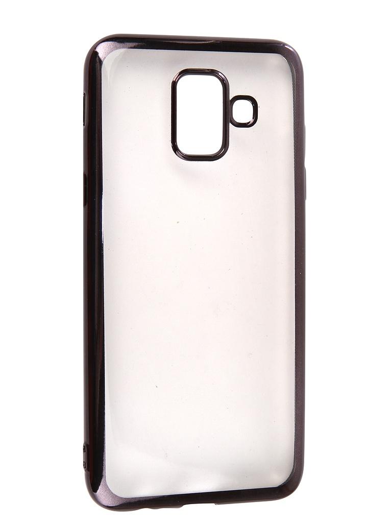 Аксессуар Чехол Neypo для Samsung Galaxy A6 2018 Aura Gray Metallic NSTA5210