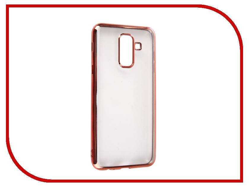Купить Аксессуар Чехол для Samsung Galaxy A6 Plus 2018 Neypo Aura Pink Metallic NSTA5208