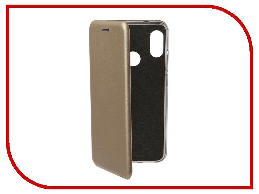 Аксессуар Чехол для Xiaomi Redmi 6 Pro Neypo Premium Gold NSB4938 чехол книжка red line book type для xiaomi redmi 5 black