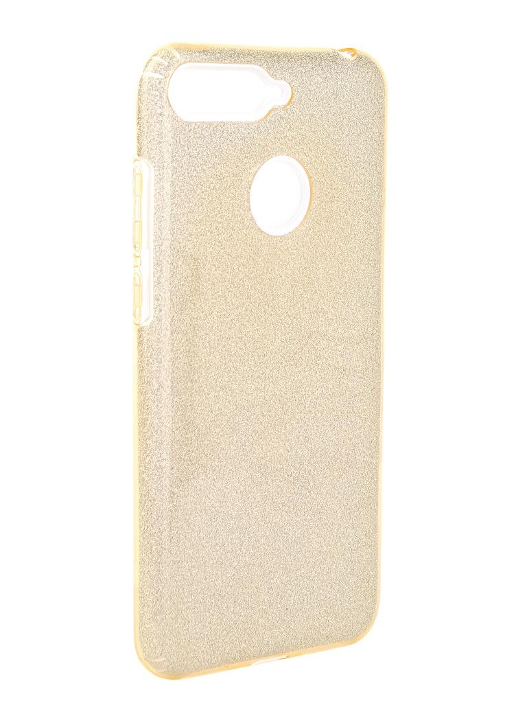 Аксессуар Чехол Neypo для Honor 7A Pro Brilliant Gold Crystals NBRL5255