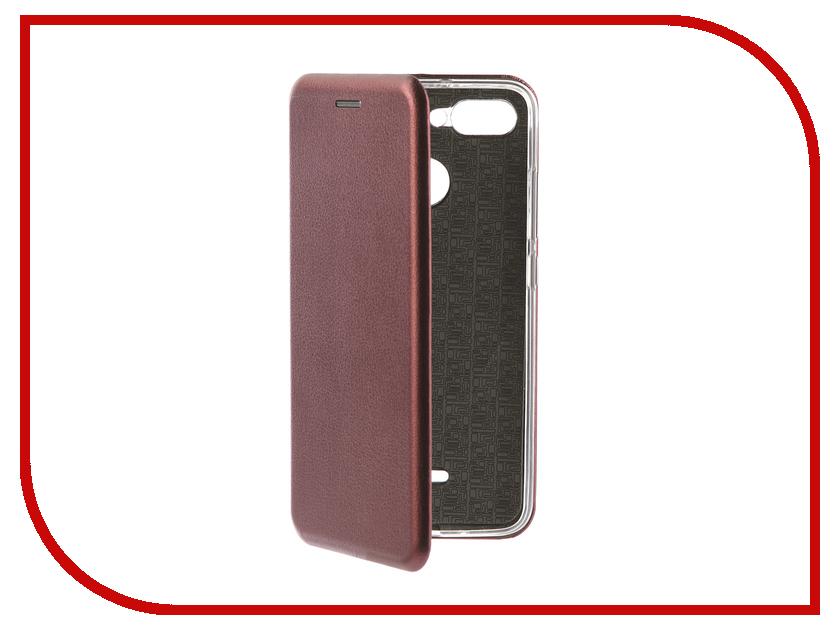 Аксессуар Чехол для Xiaomi Redmi 6 Neypo Premium Burgundy NSB4911 чехол для honor 9 lite neypo premium burgundy nsb5757