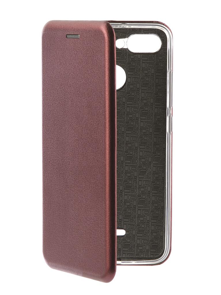 Аксессуар Чехол Neypo для Xiaomi Redmi 6 Premium Burgundy NSB4911