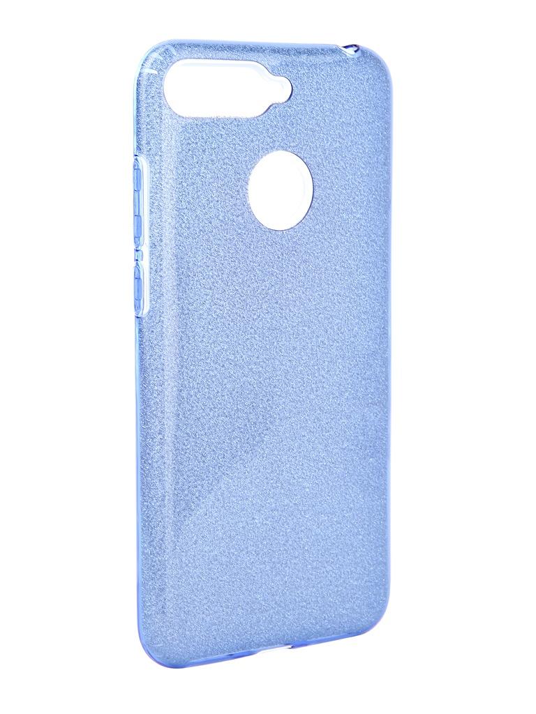Аксессуар Чехол Neypo для Honor 7A Pro Brilliant Blue Crystals NBRL5756