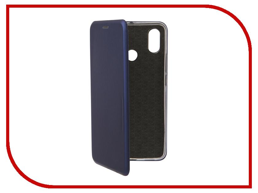 Аксессуар Чехол для Xiaomi Mi Max 3 Neypo Premium Dark-Blue NSB5751 аксессуар