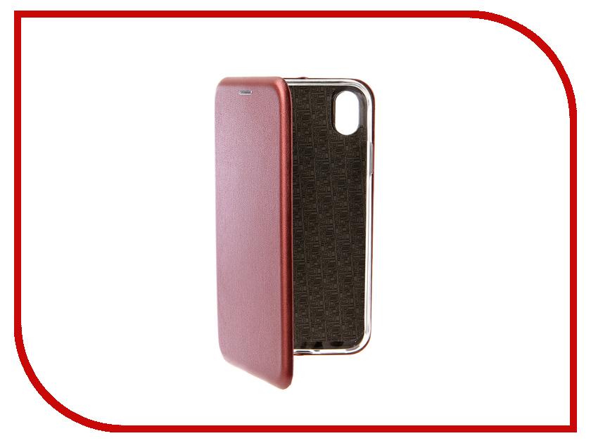 Аксессуар Чехол для APPLE iPhone XR Neypo Premium Burgundy NSB5762 чехол для honor 9 lite neypo premium burgundy nsb5757