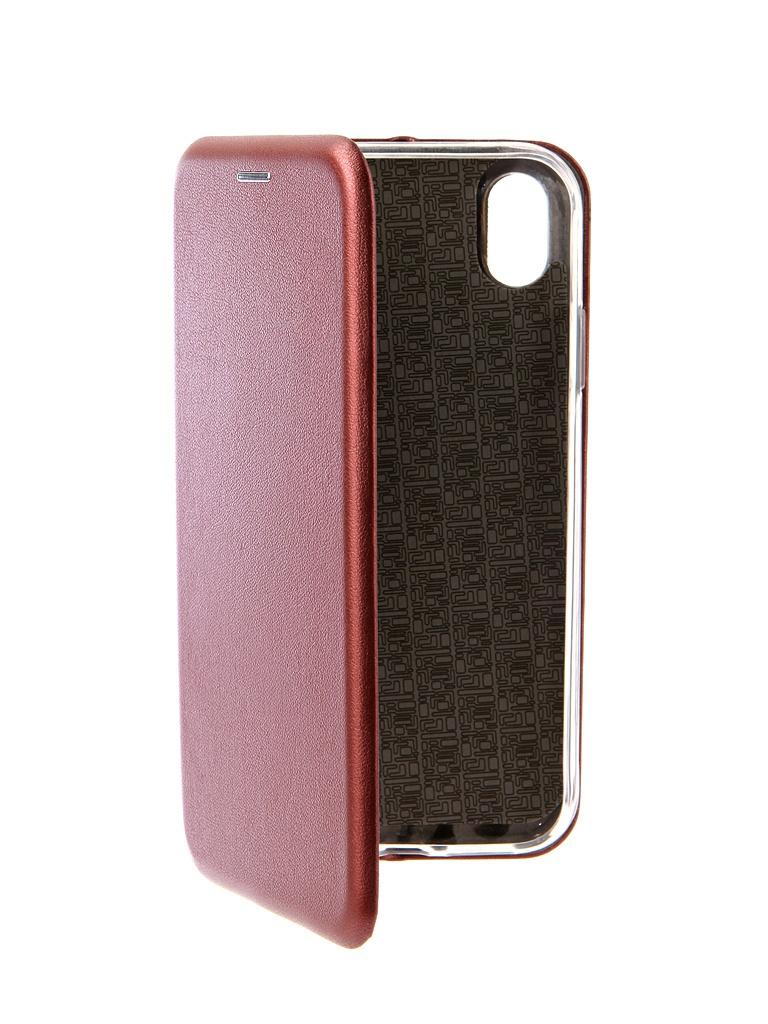 Фото - Аксессуар Чехол Neypo для APPLE iPhone XR Premium Burgundy NSB5762 аксессуар чехол для honor 7c neypo premium burgundy nsb5743