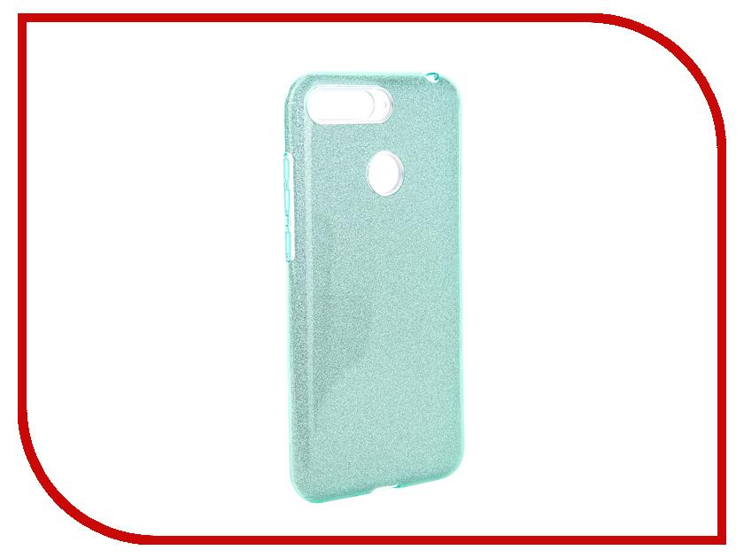 Аксессуар Чехол для Huawei Honor 7C Neypo Brilliant Turquoise Crystals NBRL5284 аксессуар