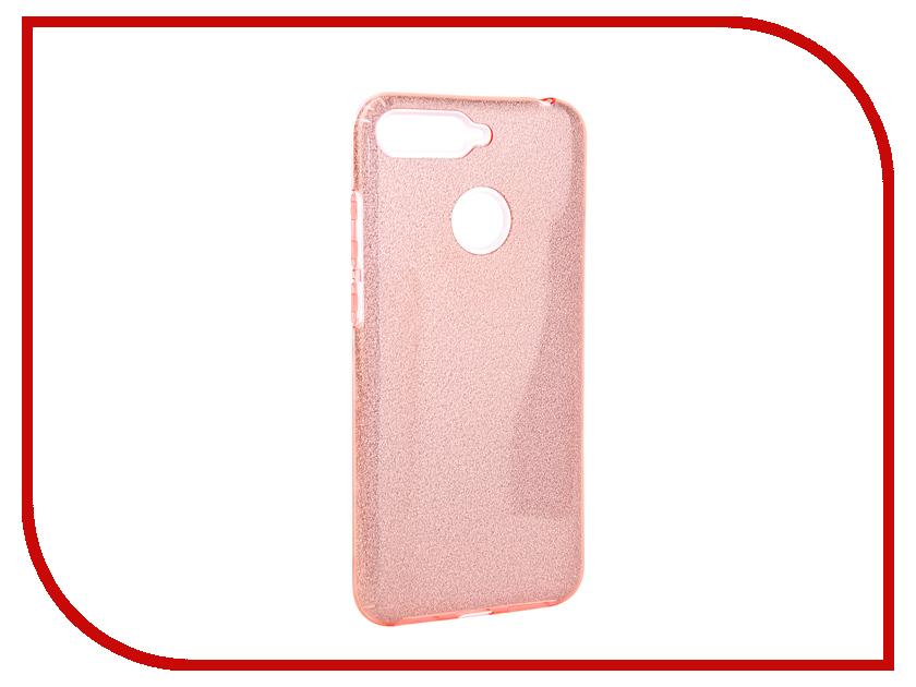 Аксессуар Чехол для Huawei Honor 7C Neypo Brilliant Pink Crystals NBRL5292 аксессуар