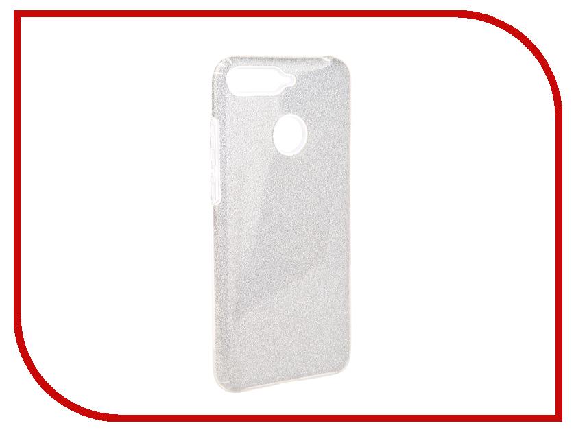 Аксессуар Чехол для Huawei Honor 7C Neypo Brilliant Silver Crystals NBRL5294 аксессуар