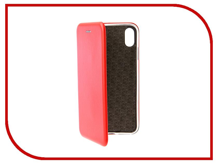Аксессуар Чехол для APPLE iPhone XS Max Neypo Premium Red NSB5727 аксессуар чехол для apple iphone xs max neypo soft matte red nst5455