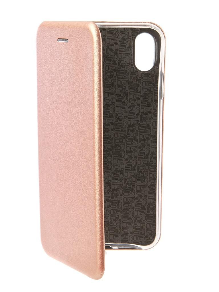 Чехол Neypo для APPLE iPhone XS Max Premium Rose Gold NSB5728