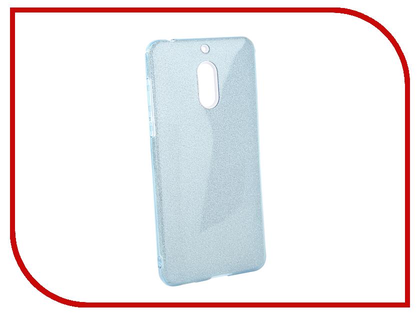 Аксессуар Чехол для Nokia 6 2018 Neypo Brilliant Light Blue Crystals NBRL5780 аксессуар чехол для huawei p20 neypo brilliant silicone light blue crystals nbrl4490