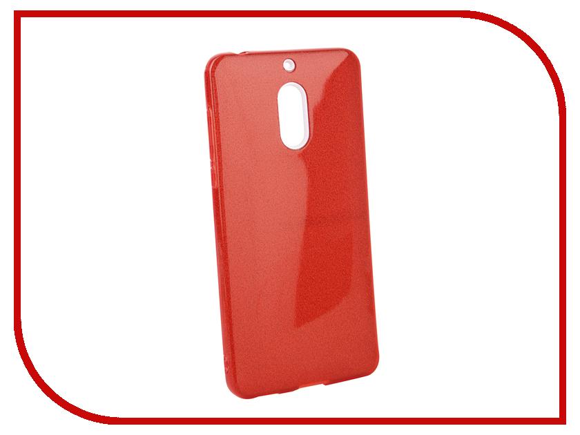 Аксессуар Чехол для Nokia 6 2018 Neypo Brilliant Red Crystals NBRL5782 110db loud security alarm siren horn speaker buzzer black red dc 6 16v