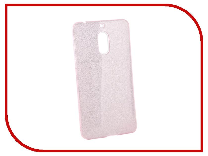 Аксессуар Чехол для Nokia 6 2018 Neypo Brilliant Pink Crystals NBRL5783 аксессуар чехол накладка nokia asha 202 partner glossy pink пр028203