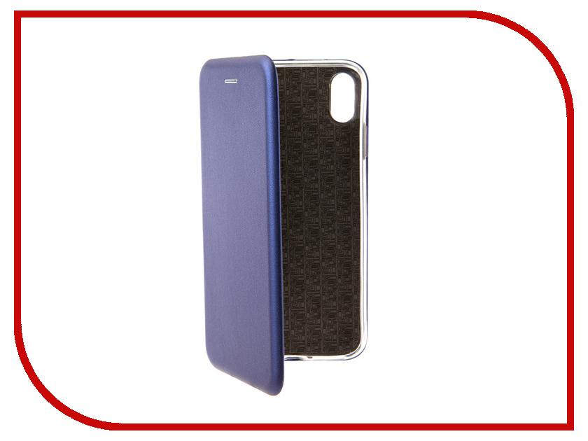 Аксессуар Чехол для APPLE iPhone XS Max Neypo Premium Blue NSB5730 аксессуар чехол neypo supreme для apple iphone x black nsb3305