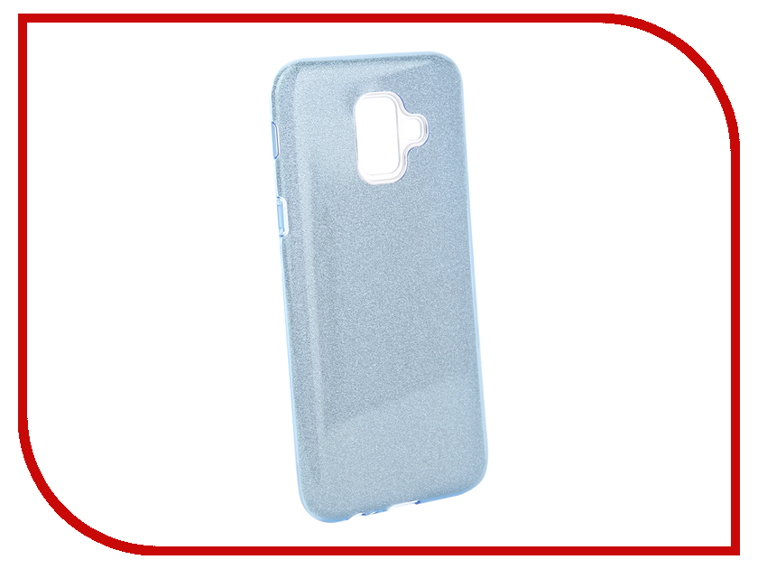 Аксессуар Чехол для Samsung Galaxy A6 2018 Neypo Brilliant Light Blue Crystals NBRL5059 аксессуар чехол для samsung galaxy a8 2018 neypo brilliant silicone purple crystals nbrl3711