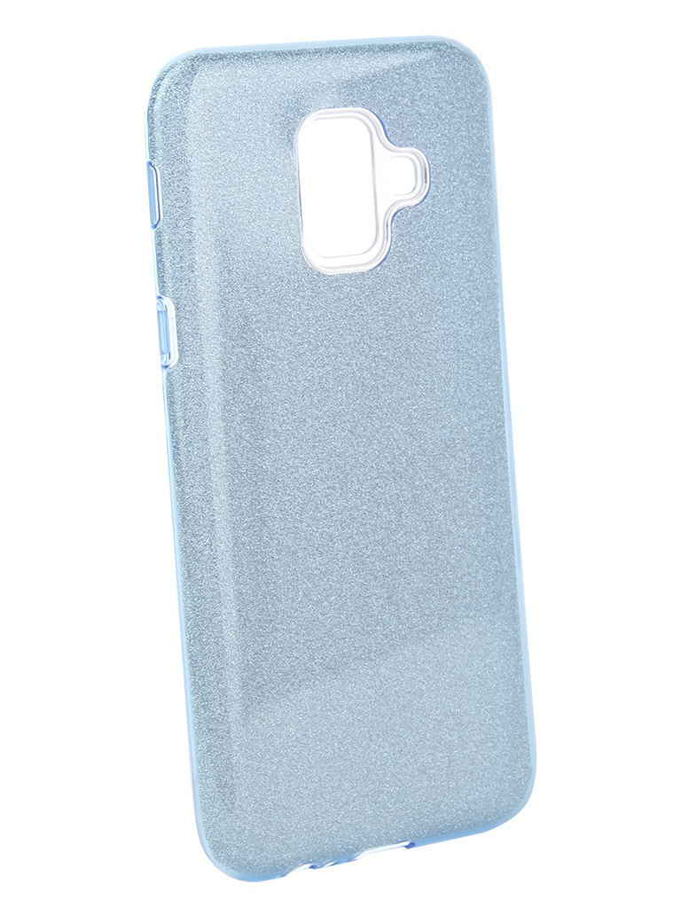 Аксессуар Чехол Neypo для Samsung Galaxy A6 2018 Brilliant Light Blue Crystals NBRL5059