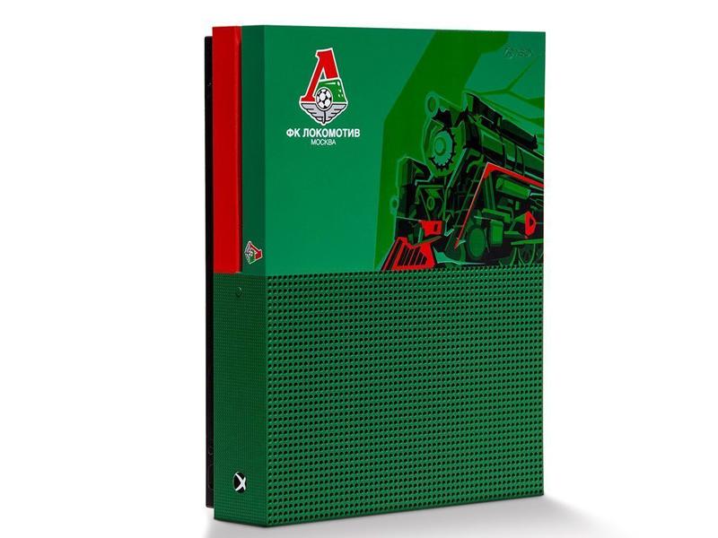 Игровая приставка Microsoft Xbox One S 1Tb Локомотив RB-XB10