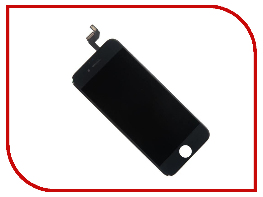 Дисплей RocknParts для iPhone 6S в сборе с тачскрином Refurbished Black 604915 дисплей rocknparts zip для iphone 6s black 468611