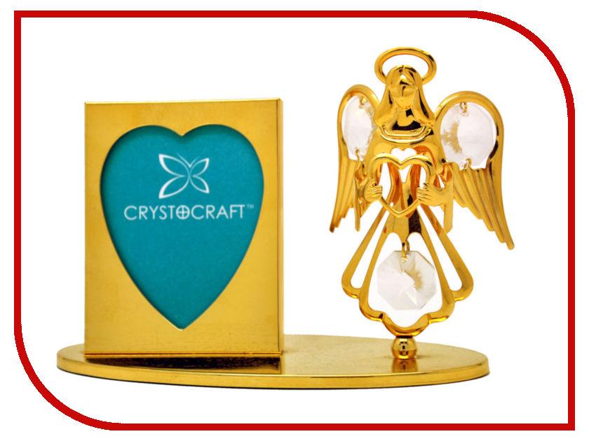Фоторамка Crystocraft с фигуркой ангела 15-042-GCL картридж epson c13t09684010 t0968 для epson stylus photo r2880 матовый черный