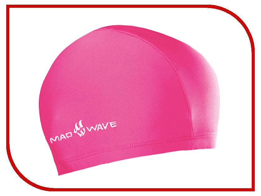 Шапочка Mad Wave Lycra Pink M0520 01 0 11W шапочка mad wave lux shower turquoise m0517 02 0 16w