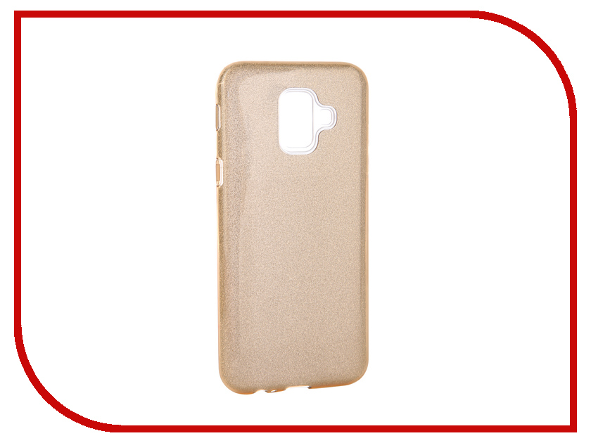 Аксессуар Чехол для Samsung Galaxy A6 2018 Neypo Brilliant Gold Crystals NBRL5060